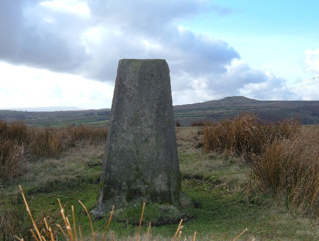 Trig Pillar, Hunger Hill, Rochdale