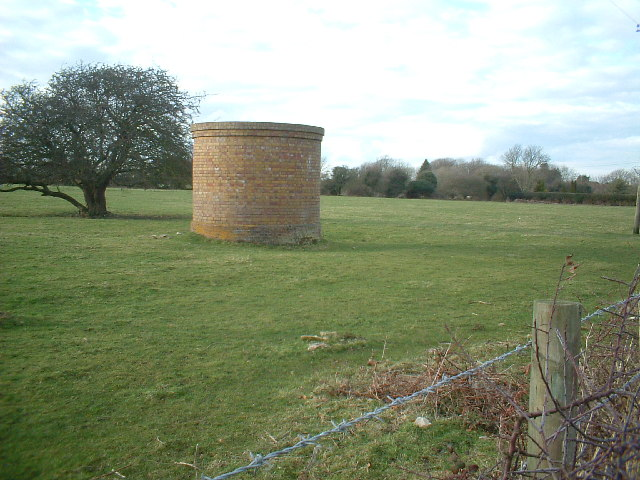 Ventilation shaft near Guston