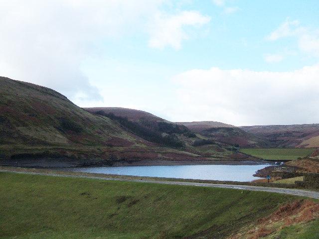 Naden Middle Reservoir, Rochdale