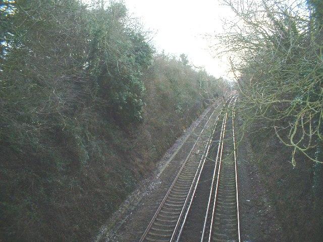Railway near Martin