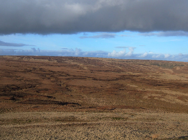Knowl Moor's eastern flank