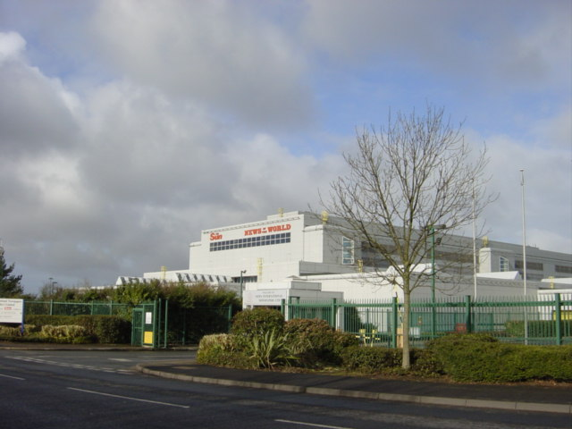 News International at Knowsley Industrial Park