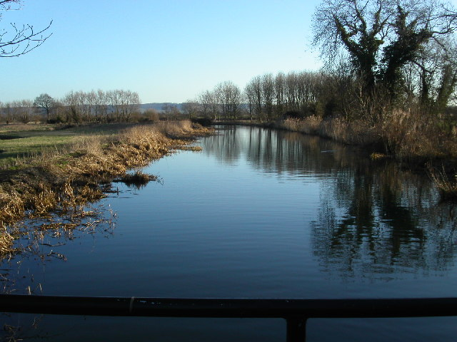 Stroudwater canal in February