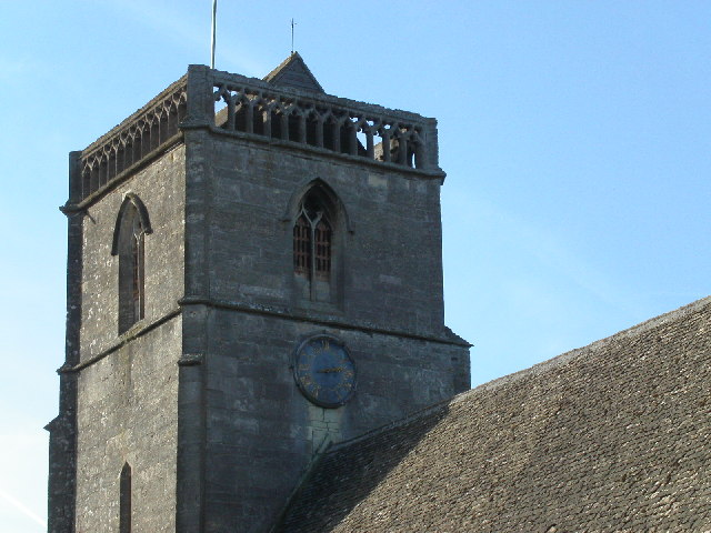 St. Mary's church tower at Arlingham