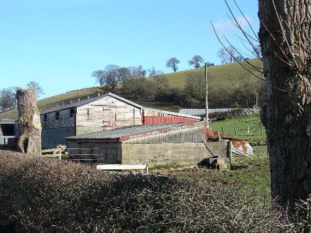 Farm Buildings at Trewythen