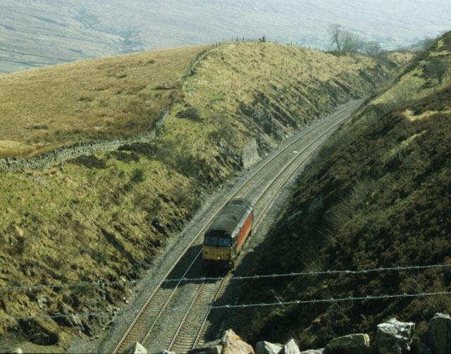 Railway cutting south of Birkett Tunnel, Mallerstang