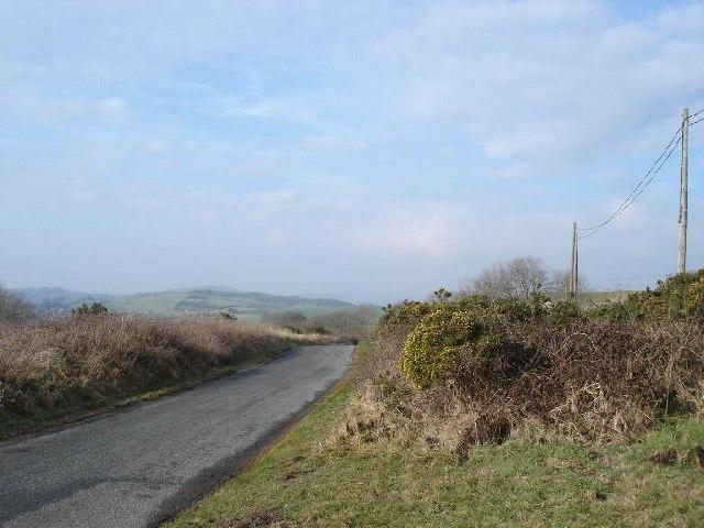 Lane to Llannefydd