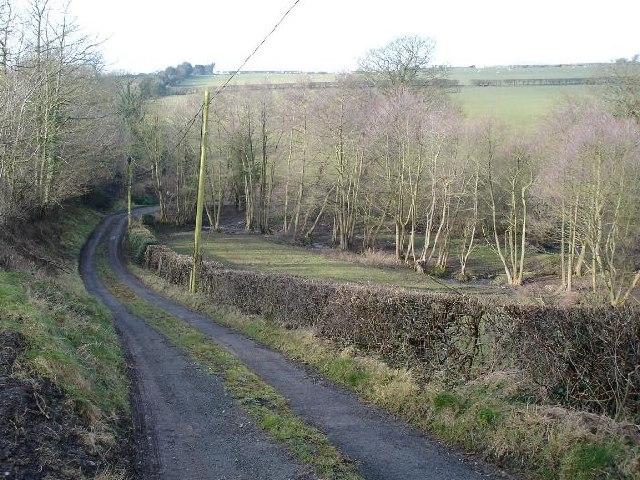 Little used lane