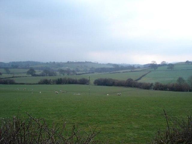 Farmland near Henllan