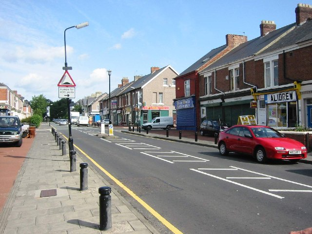 Heaton Park Road Shops