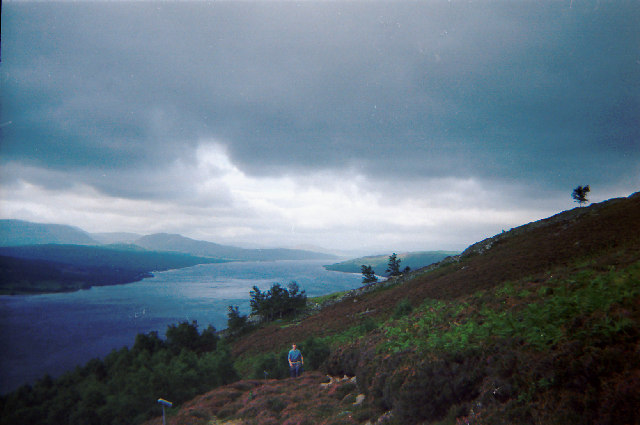 Loch Rannoch from the southern slopes of Meall Dubh