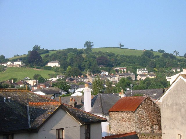 Looking towards Harper's Hill, Totnes