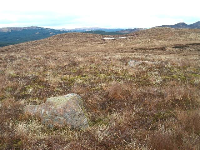 Moorland hilltop