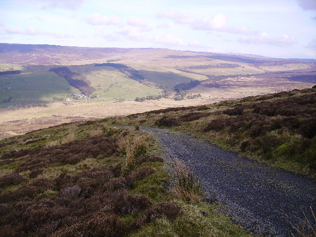 Trough of Bowland from Stables Breast
