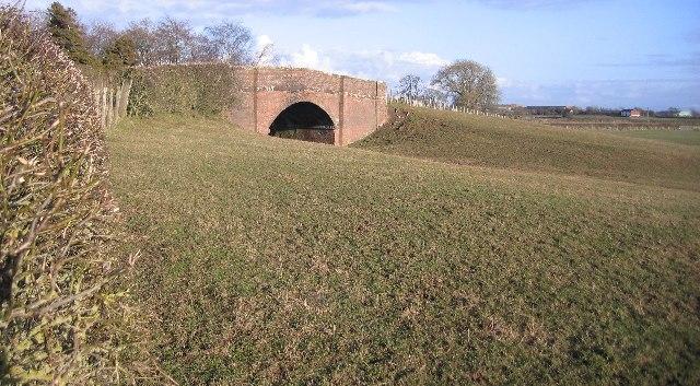 A fine old railway bridge.