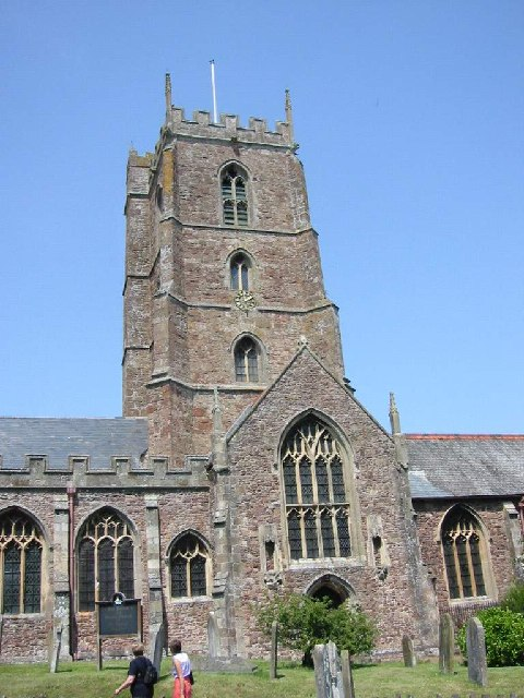 Church tower, St Georges Priory Church, Dunster