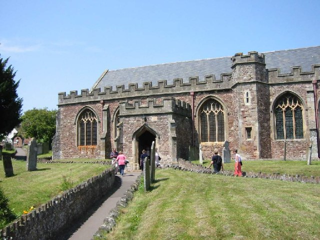 Western entrance to St Georges Priory Church, Dunster