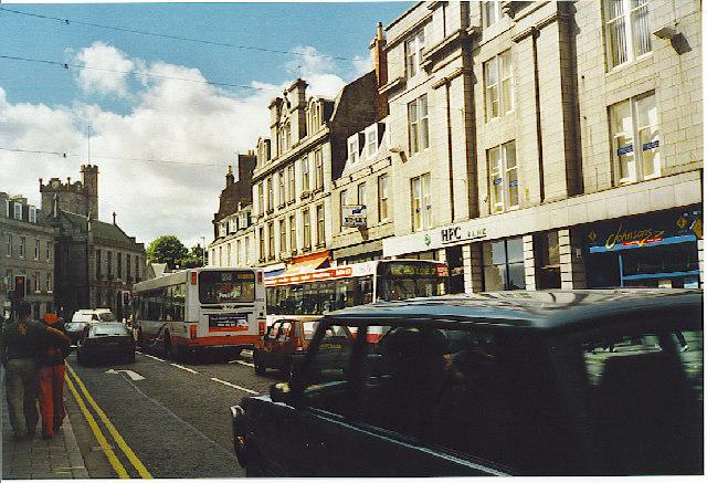 Holburn Junction, Aberdeen.
