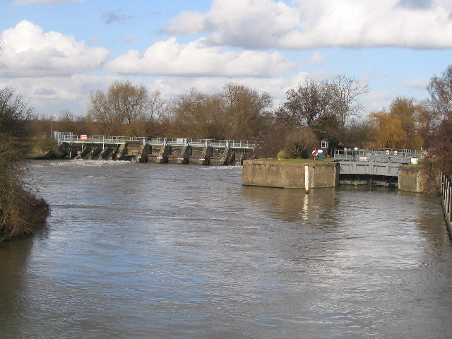 Days Lock and Weir