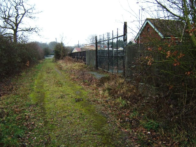 Footpath From Marks Farm