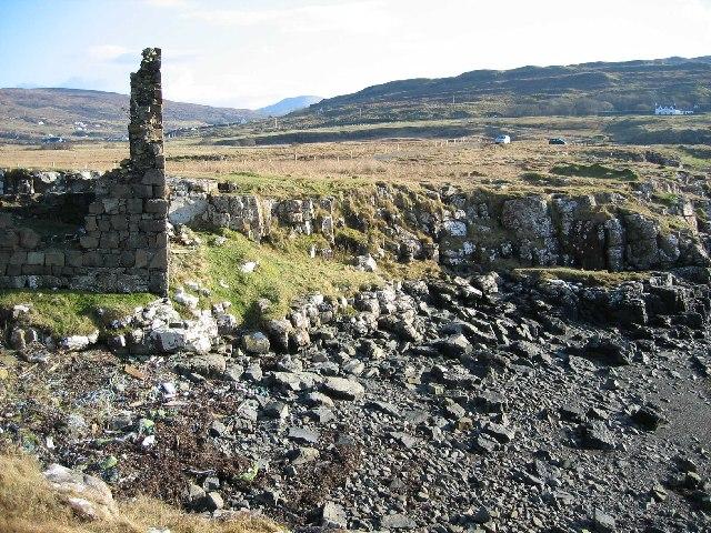 Ruin by Loch Pooltiel