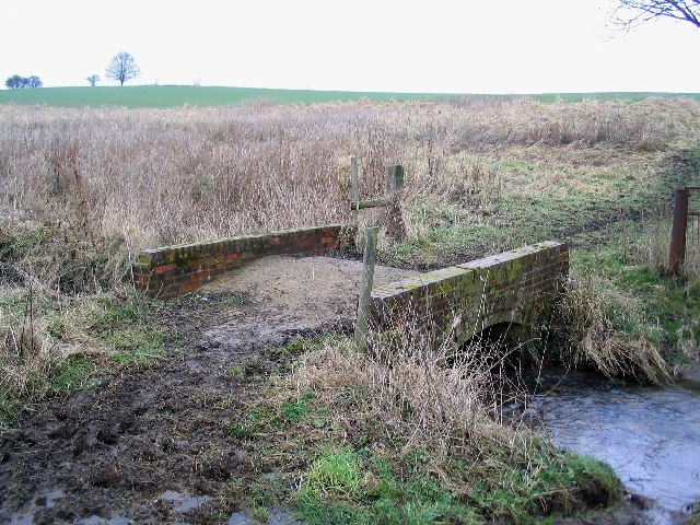 Bridge over the River Eye, south of Saltby