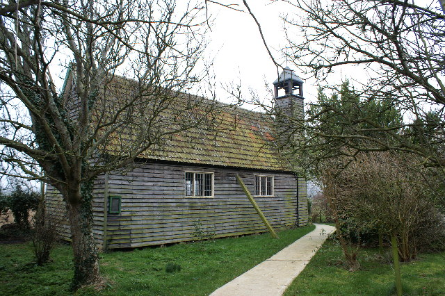 Wooden Church near Stolford