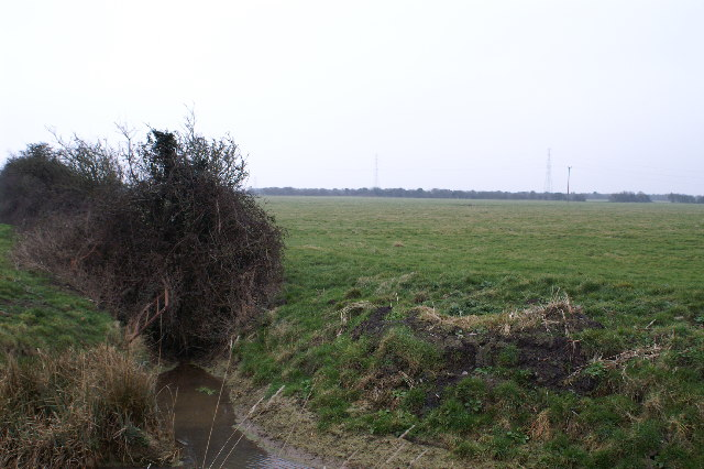 Field and ditch