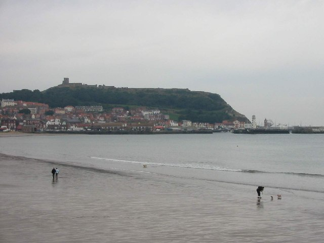 Scarborough Castle and South Bay