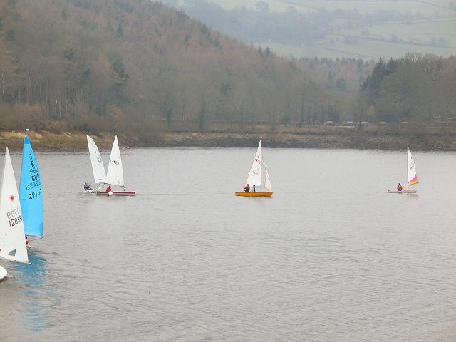Yachts on Damflask Reservoir