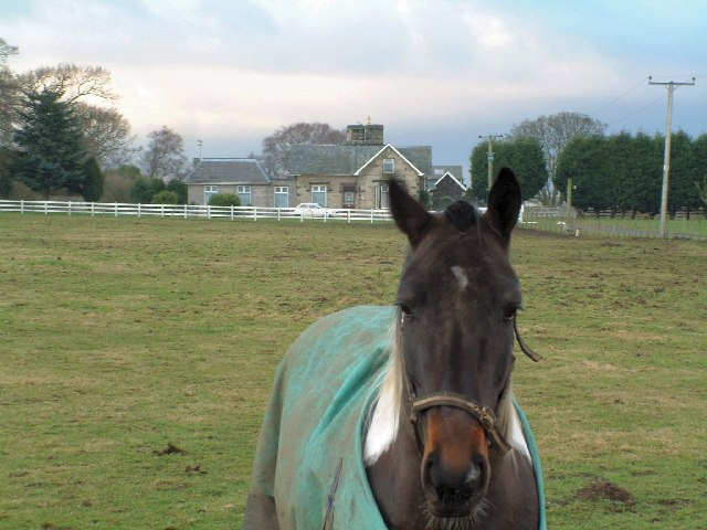 Greenend House and a resident