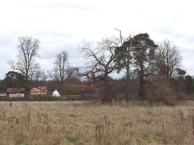 Fields and open air museum, Chalfont St Peter