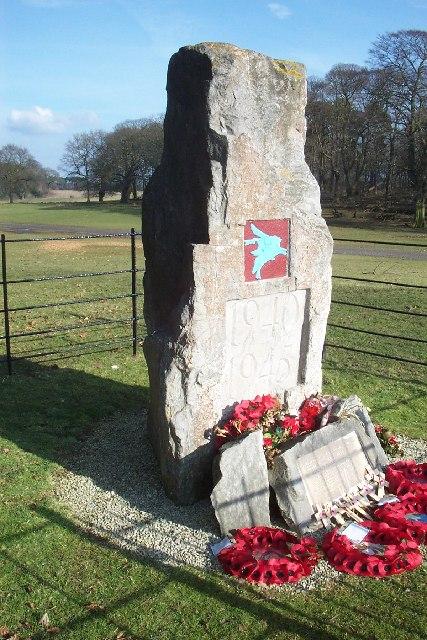 Paratroop Memorial Stone