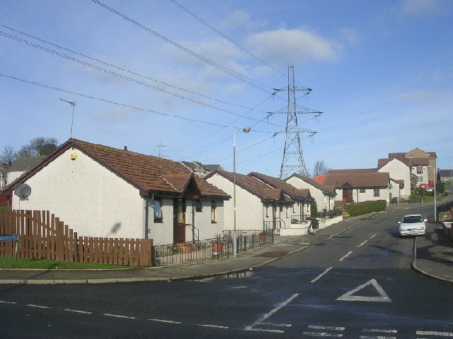 Housing and Pylons at Danestone