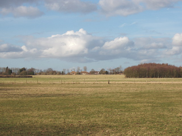 Burton's Farm, Little Chalfont,  from Lodge Lane