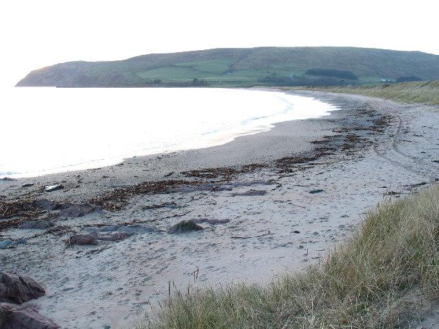 Carskey Bay by Southend, south Kintyre.