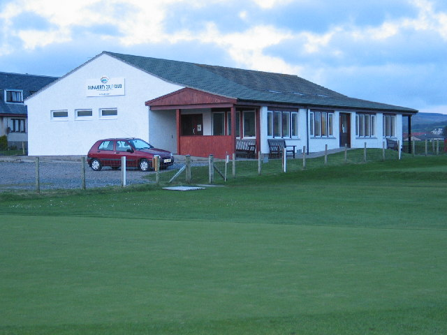 Dunaverty Golf Clubhouse, Southend.