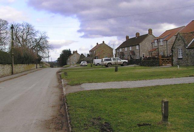 Spaunton village