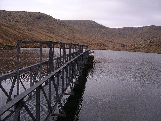 Finlas Reservoir, Luss Hills