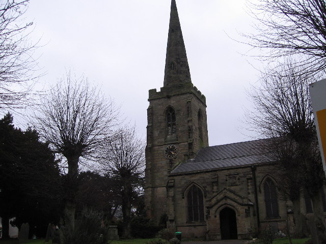 St Catherines Church, Burbage