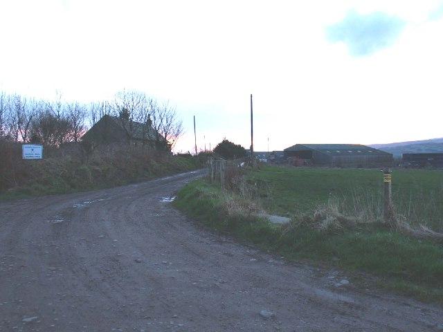 Aucharua Farm entrance by Southend.