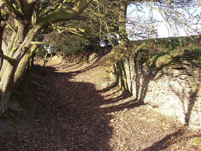 Former Parkin Hall Lane, Hartshead, Yorkshire