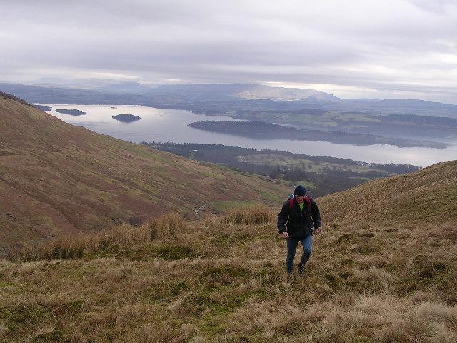 Near Summit of Craperoch