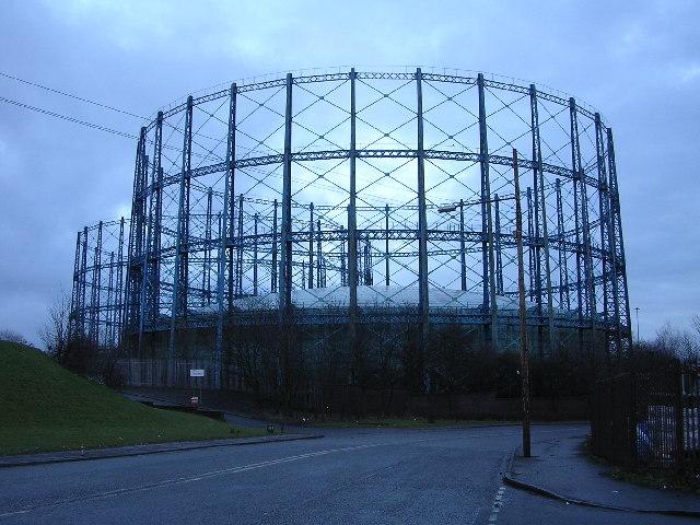 Provan Gasworks, Glasgow