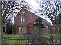 NS6365 : High Carntyne Parish Church by Chris Upson