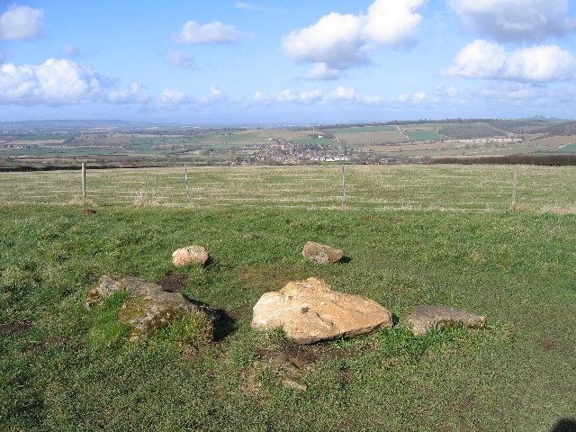 Long Compton from the King Stone