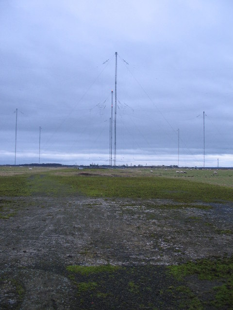Anthorn comms masts