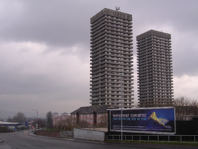 Camlachie Tower Blocks
