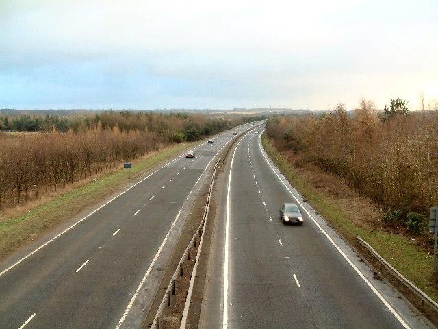 A92 trunk road