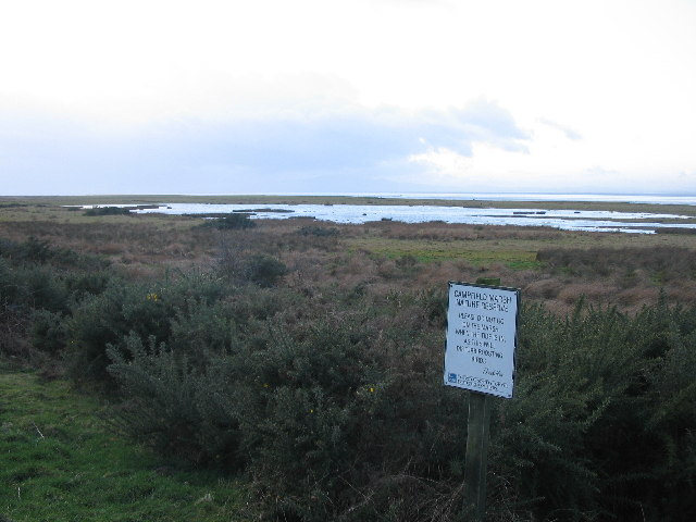 Campfield Marsh nature reserve